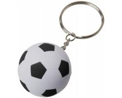 Fotbalový přívěsek na klíče SHOED - bílá / černá