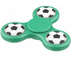 Plastový spinner FRIAR v designu fotbal - zelená