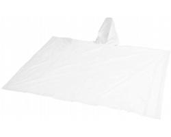 Nastavitelná pláštěnka PONCHO s pouzdrem - bílá