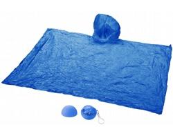 Pláštěnka HANDSOM s kapucí a pouzdrem jako přívěsek - modrá
