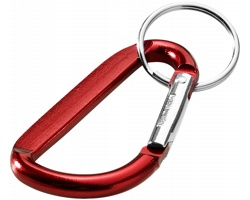 Přívěsek na klíče karabina UNIV - červená