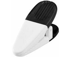 Magnetický držák HOGTY s klipem na vzkazy - černá / bílá