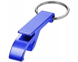 Hliníkový přívěsek na klíče ODDER otvírák lahví a konzerv - modrá