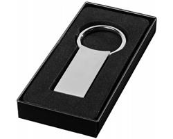 Obdélníkový přívěsek na klíče DRAWINGS - stříbrná