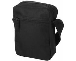 Malá taška do města LOWS s ramenním popruhem - černá