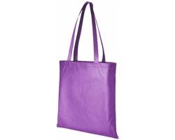 Netkaná recyklovatelná kongresová taška GAWK - levandulová