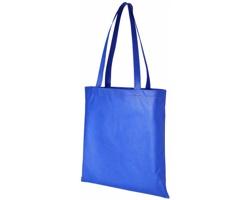 Netkaná recyklovatelná kongresová taška GAWK - královská modrá