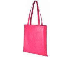 Netkaná recyklovatelná kongresová taška GAWK - světle fialová
