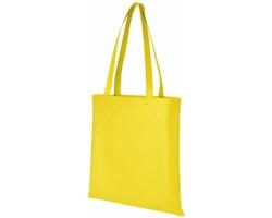 Netkaná recyklovatelná kongresová taška GAWK - žlutá
