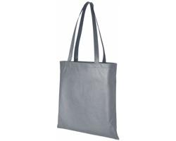 Netkaná recyklovatelná kongresová taška GAWK - šedá
