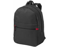 Městský batoh GRIMM - černá / červená