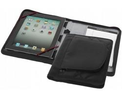 Cestovní pouzdro SHOT pro iPad se zápisníkem A5 a vizitkářem - černá