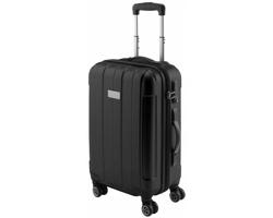 Kufr na kolečkách MIXER s rozměry palubního zavazadla - černá
