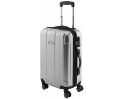 Kufr na kolečkách MIXER s rozměry palubního zavazadla - stříbrná