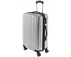 Kufr na kolečkách GEOG se zámkem TSA - stříbrná