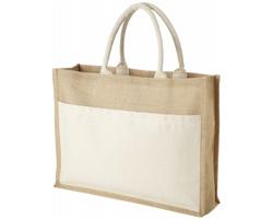 Ekologická jutová nákupní taška BOMBAY - přírodní / přírodní