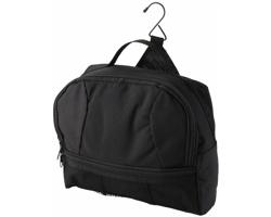 Cestovní kosmetická taška PHONE s háčkem pro zavěšení - černá