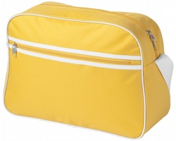 Taška přes rameno CAIN retro styl - žlutá