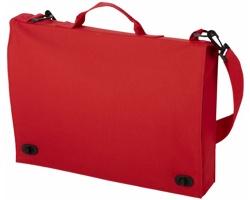 Retro polyesterová konferenční taška HABET - červená