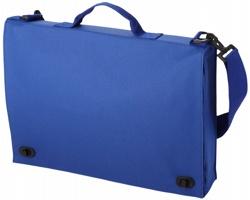 Retro polyesterová konferenční taška HABET - královská modrá