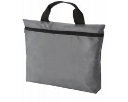 Netkaná konferenční taška RECCE, formát A4 - šedá
