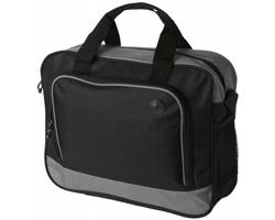 Konferenční taška STOMA s otvorem pro kabel sluchátek - šedá
