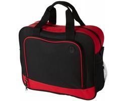 Konferenční taška STOMA s otvorem pro kabel sluchátek - červená