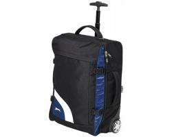 Cestovní kufr na kolečkách Slazenger WEMBLEY TROLLEY jako palubní zavazadlo - černá / modrá