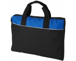 Konferenční taška na dokumenty CONCEPTION - černá / královská modrá