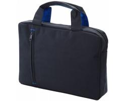 Konferenční taška DIVVY - tmavě šedý melír / královská modrá