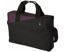 Konferenční taška EASED - černá / tmavě fialová