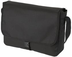 Taška na rameno LES s nastavitelným popruhem - černá