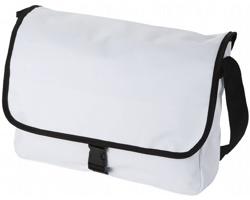 Taška na rameno LES s nastavitelným popruhem - bílá