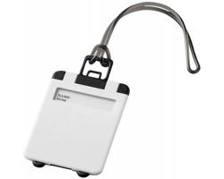 Výklopná zavazadlová visačka DONOR - bílá