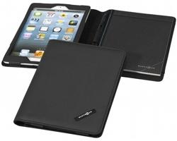 Pouzdro na iPad s linkovaným blokem Marksman ODYSSEY iPad mini case - černá