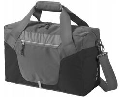 Cestovní taška Elevate REVELSTOKE s voděodolnými zipy - šedá / černá
