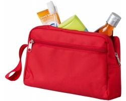 Cestovní toaletní taška UNDID s popruhem - červená