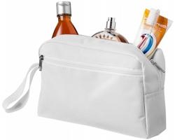 Cestovní toaletní taška UNDID s popruhem - bílá