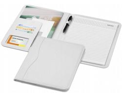Konferenční desky PAVED s poznámkovým blokem, formát A4 - bílá