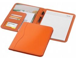 Konferenční desky PAVED s poznámkovým blokem, formát A4 - oranžová