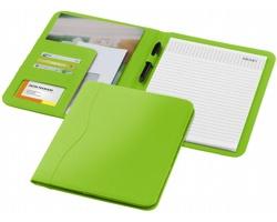 Konferenční desky PAVED s poznámkovým blokem, formát A4 - světle zelená