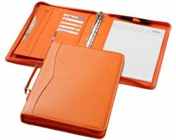 Konfereční desky s kroužkovou vazbou VISES, formát A4 - oranžová