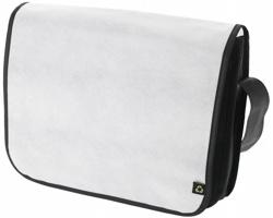 Recyklovatelná taška přes rameno KNISH - bílá