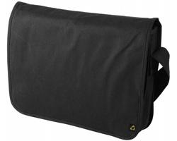 Recyklovatelná taška přes rameno KNISH - černá