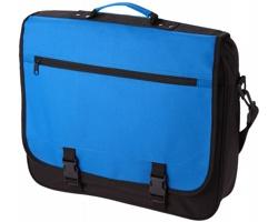 Konferenční taška ANCHORAGE s klopou na sponu - modrá