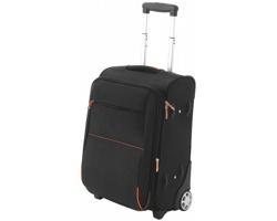 Příruční zavazadlo GROVETON s kolečky a teleskopickou tyčí - černá