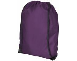 Batůžek UGGO se stahovací šňůrkou - tmavě fialová