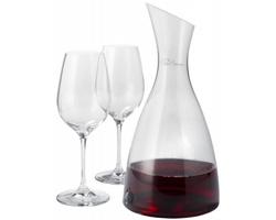 Sada na dekantování vína Paul Bocuse PRESTIGE DECANTER - transparentní čirá