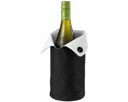 Skládací chladicí obal na víno Paul Bocuse NORON - leskle černá / bílá