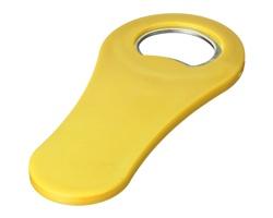 Otvírák láhví s magnetem LING - žlutá